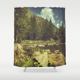Alpine Idyll Shower Curtain