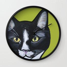 Laser the Cat Wall Clock