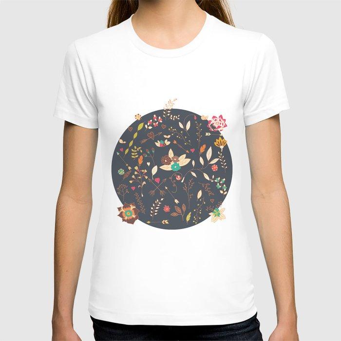 Flower pattern 02 T-shirt