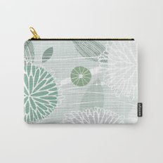 Abstract Floral by Friztin Carry-All Pouch
