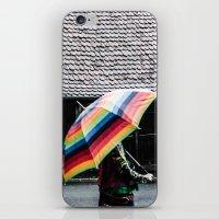 umbrella iPhone & iPod Skins featuring umbrella by Deviens