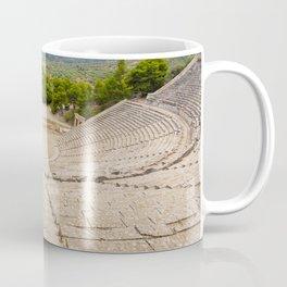 The ancient theater in Epidaurus, Argolis, Greece Coffee Mug