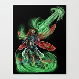 Dragonfly Mage Canvas Print