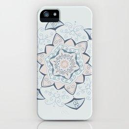 Jin Blue Mandala iPhone Case