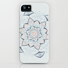 Jin Blue Mandala iPhone Case