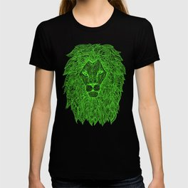 Electric Green Lion T-shirt