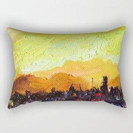 A view of sunset Rectangular Pillow