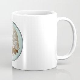 Three Dimensional American Bald Eagle Made from Folded Paper Coffee Mug
