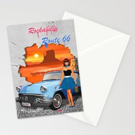 Rockabilly Street Art Stationery Cards