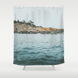 Boat ride in the archipelago II Shower Curtain