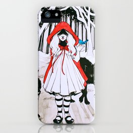 Amongst Wolves iPhone Case