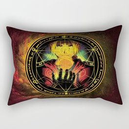 Edward Transmutation Circle Rectangular Pillow