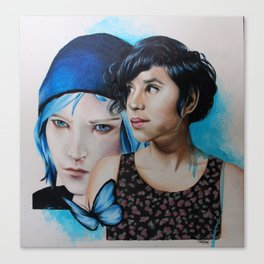 Life is Strange - Chloe Price | Ashly Burch Canvas Print