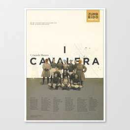 I Cavalera Canvas Print