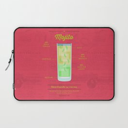 Mojito - Cocktail by Juan Laptop Sleeve