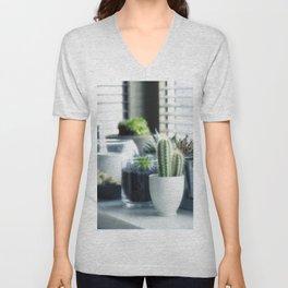 Cactus plants Unisex V-Neck