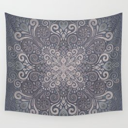 Vintage Ornate Watercolor Wall Tapestry