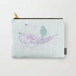 Nest with Bird Carry-All Pouch
