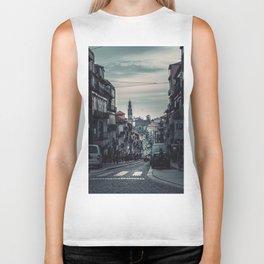 Subdued City (Color) Biker Tank