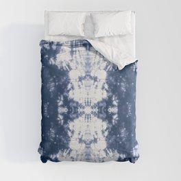Shibori 6 Indigo Blue Comforters