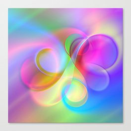 color whirl -21- Canvas Print