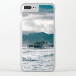 HERE TO ETERNITY Clear iPhone Case