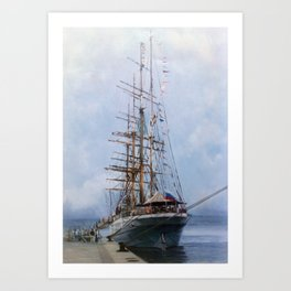 Regata Cutty Sark/Cutty Sark Tall Ship's Race Art Print