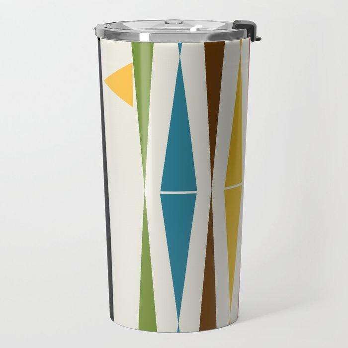 Mid-Century Modern Art Cat 2 Travel Mug