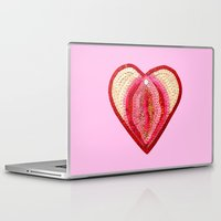vagina Laptop & iPad Skins featuring Sequin Vagina by King Sophie's World