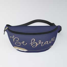 Be Brave Arrow (Blue) Fanny Pack