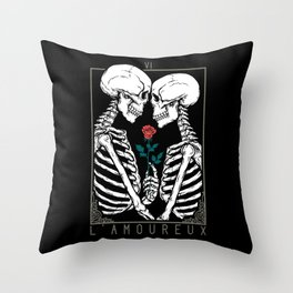 VI The Lovers Throw Pillow