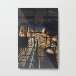 Bridge and Tunnel Metal Print