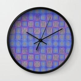 Pastel Jewelbox Wall Clock