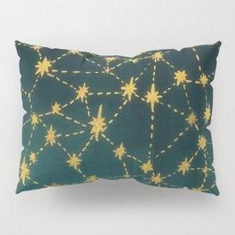 Stars Map Pillow Sham