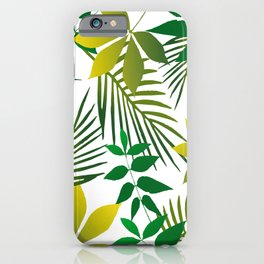 Junge Leaf pattern iPhone Case