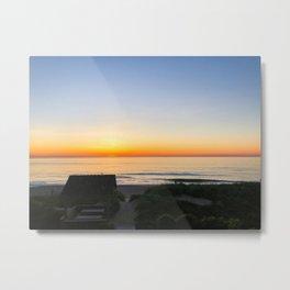 Sunrise at Nags Head, NC Metal Print