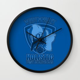 Windy Valley Holistic Pest Solutions Wall Clock