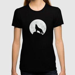 Howling Wolf - Moon T-shirt