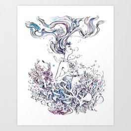 Hopeless Devotion Art Print