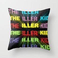 The Iller Kid Throw Pillow