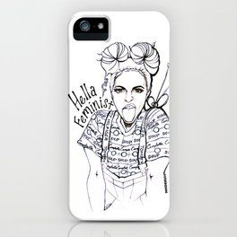 #STUKGIRL EMMA iPhone Case