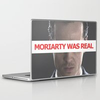 moriarty Laptop & iPad Skins featuring Moriarty Was Real / Moriarty / IV by Earl of Grey