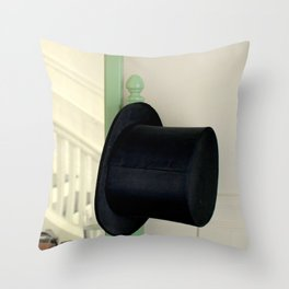 Fred's Hat, Gingerly Throw Pillow
