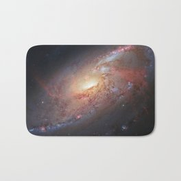 Spiral Galaxy M 106 Bath Mat