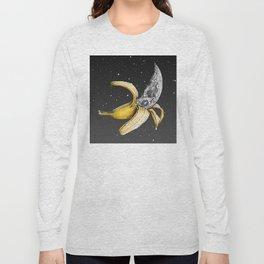 Moon Banana Long Sleeve T-shirt