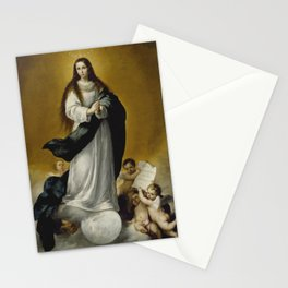 Bartolome Esteban Murillo - The Virgin of the Immaculate Conception Stationery Cards