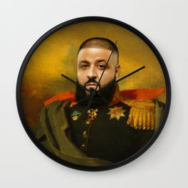 DJ Khaled Classical Painting Wall Clock