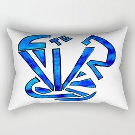 tea cup time Rectangular Pillow