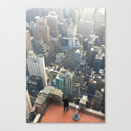New York: Top of the Rock Canvas Print