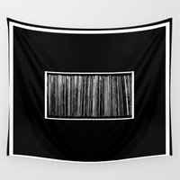 vinyl Wall Tapestries featuring Vinyl by Derek Delacroix